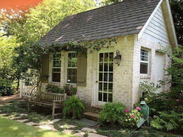 Tiny sweet stone cottage
