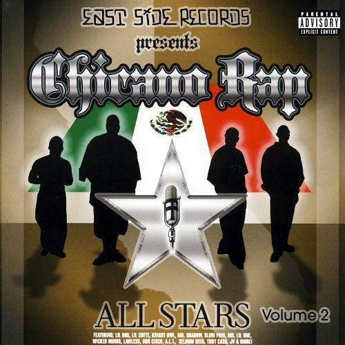 Chicano Rap Allstars, Vol. 2 [CD] [PA]