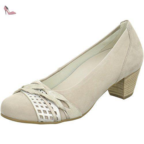 Gabor Shoes Gabor Gabor, Escarpins FemmeMarron (62 Visone), 40 EU