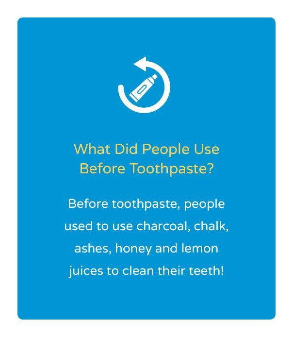 What do you think people use before toothpaste? #FunFacts #DentalFacts