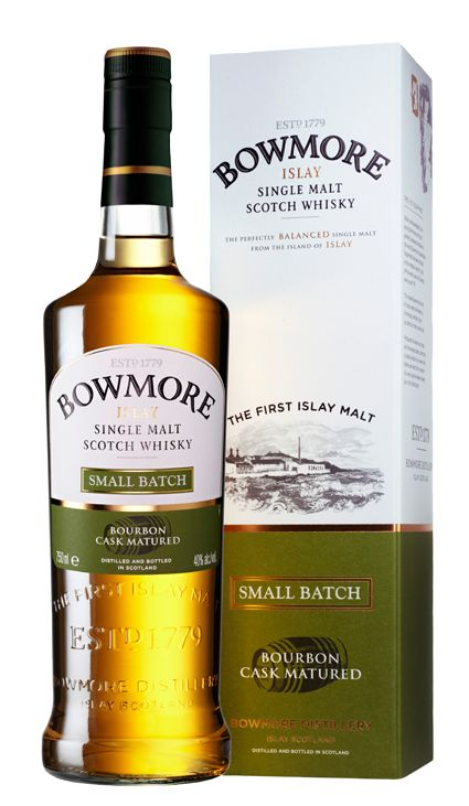The Bowmore Single Malt Whiskey Small Batch the taste of Isaly.