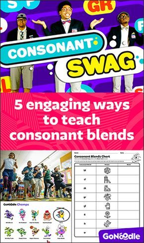 Teaching consonant blends with GoNoodle!