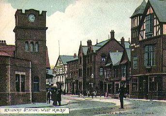 Railway Station West Kirby 1910