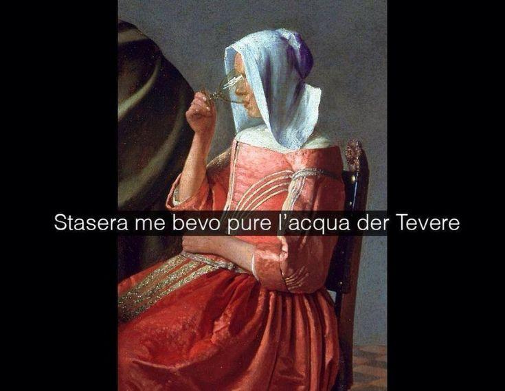 Il bicchiere di vino - Johannes Vermeer