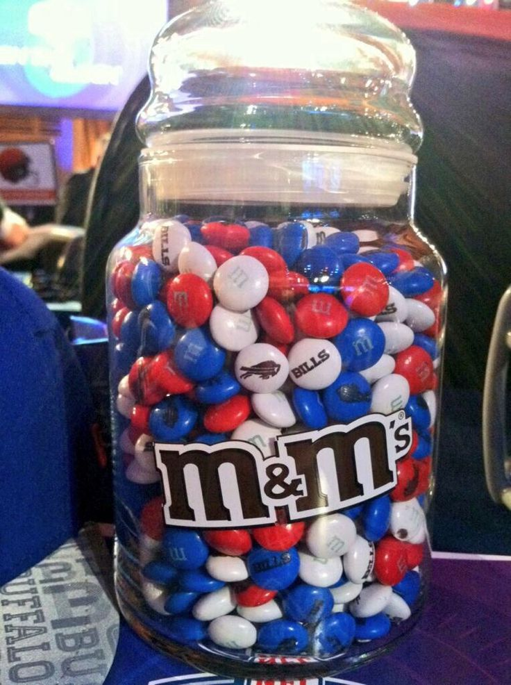 Buffalo Bills M&Ms