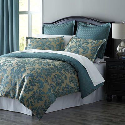 Calibri Jacquard Bedding   Duvet   Teal   30    170  pier one. 25 best Comforters images on Pinterest   Comforters  Bedroom ideas