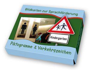 """Bildkarten zur Sprachförderung: Piktogramme & Verkehrszeichen ++ Ob """"Ampel-""""…"""