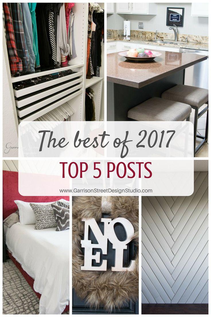 The Best of 2017   Top 5 Posts   Garrison Street Design Studio