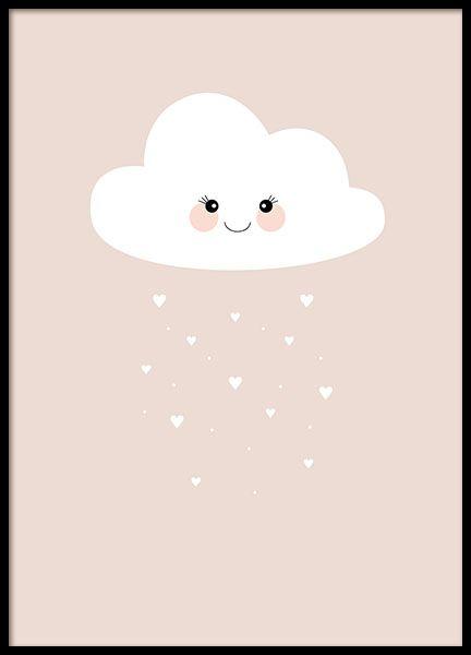 Cloud Pink, affiche dans le groupe Affiches chez Desenio AB (8437)