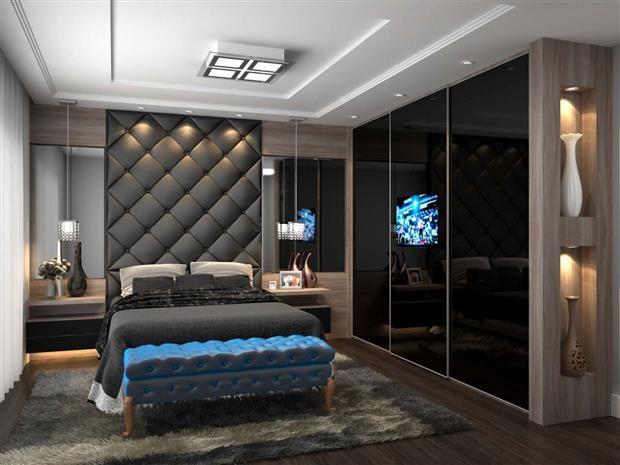 Construindo Minha Casa Clean: Decoração de Quartos de Casal com TV!