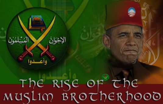 """OBAMA CLAIMS THAT WORKING WITH MUSLIM BROTHERHOOD WILL BRING VICTORY OVER TERRORISM -- The president decided last Thursday – 5 years into his presidency – to finally address the gravest threat to our nation  the West in the wake of a bloody wave of jihad attacks under his sloppy  feckless watch. He said, """"Victory will be measured in parents taking their kids to school; immigrants coming to our shores; fans taking in a ballgame; a veteran starting a business; a bustling city street."""" [...]…"""