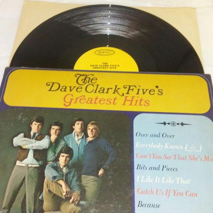 The Dave Clark Five's Greatest Hits Vinyl Lp LN 24185 Ex 1966 Pop Rock & Roll  #PopRock