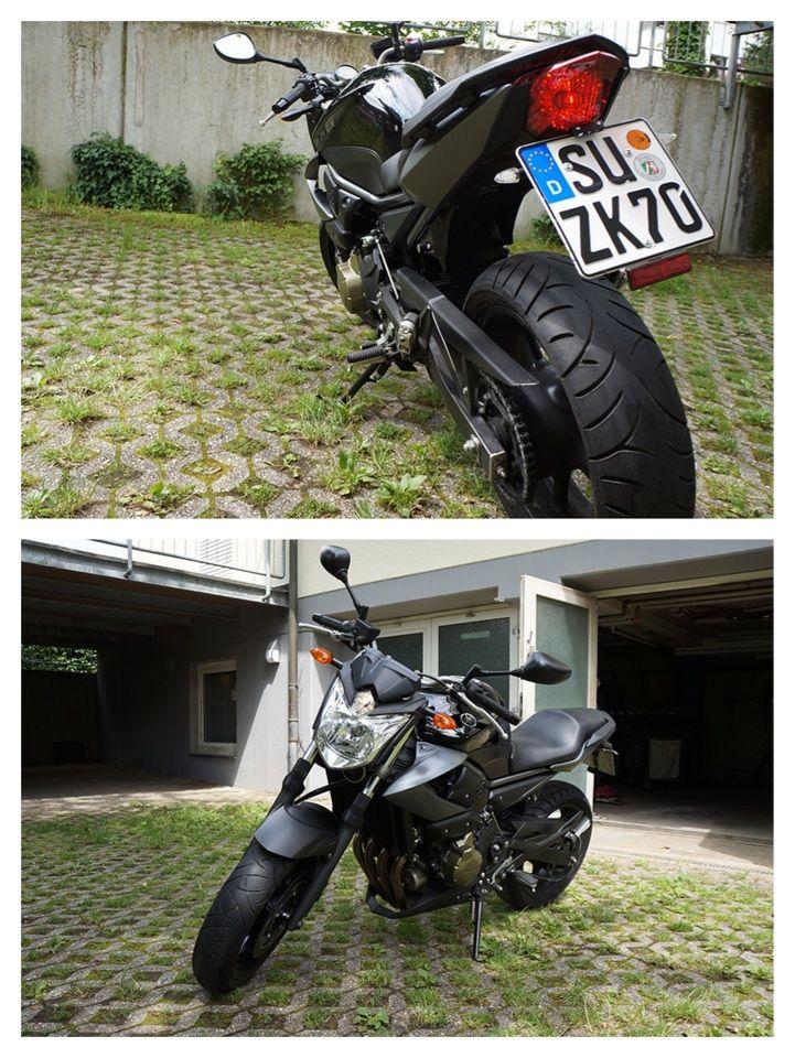 Yamaha XJ6 ABS mit Extras  Sehr guter Zustand Um- und Unfallfrei Erstzulassung: 18.03.2009 KM: 13.261 km Extras: ++ Kleine Blinker hinten ++ Kurzes Kennzeichen