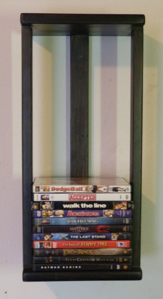 dvd wall storage rack from etsy