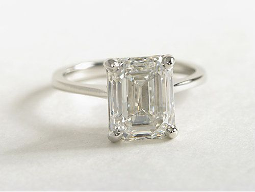 topaz engagement ring simple rectangle - Google Search