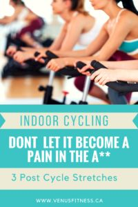Indoor Cycling- A Pain in the A*!? - Venus Fitness & Lifestyle