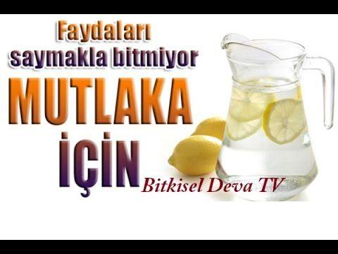 Limon ve Limonlu Su İçmenin Faydaları - Bitkisel Deva TV