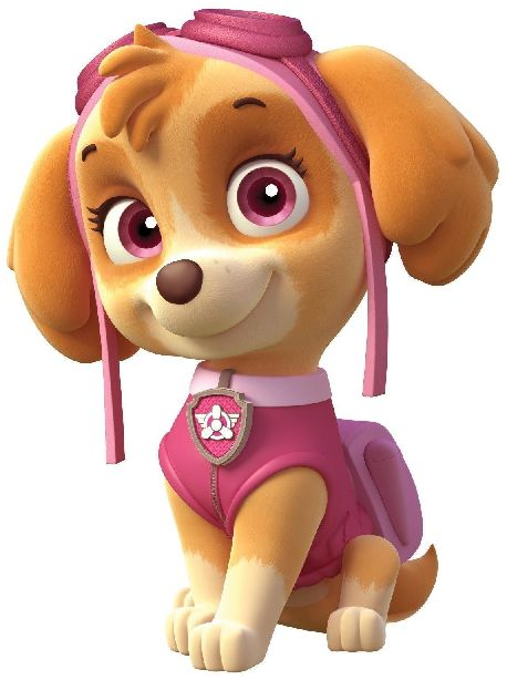 Free Printable Mini Kit of Skye from Paw Patrol.