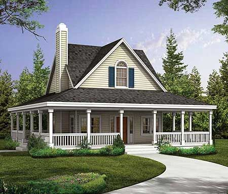 Cottage House Plans Eplans Country Cottage House Plan Wraparound Porches