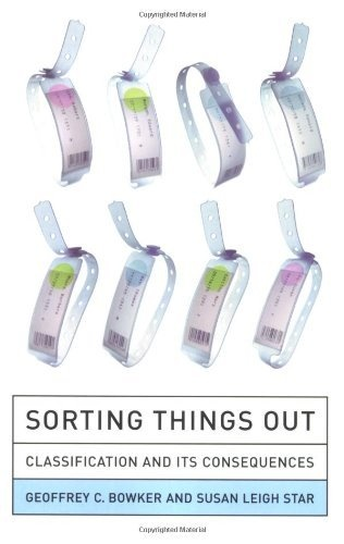 Sorting Things Out: Classification and Its Consequences (Inside Technology) by Geoffrey C. Bowker, http://www.amazon.com/dp/0262522950/ref=cm_sw_r_pi_dp_wS3Wrb1Z2P38G