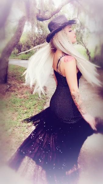 Black sundress, gypsy soul summer dress, True Rebel Clothing sale
