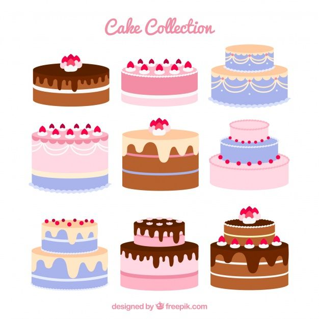 Peachy Download Set Of Nine Birthday Cakes For Free Com Imagens Funny Birthday Cards Online Inifodamsfinfo
