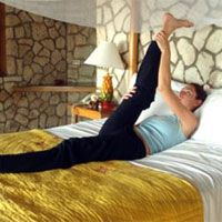 Yoga for Bedtime...helps release tension and aligns your back
