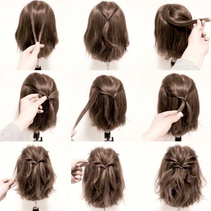 10 Super bonitos y sencillos peinados para darle más actitud a tu nuevo corte Bob