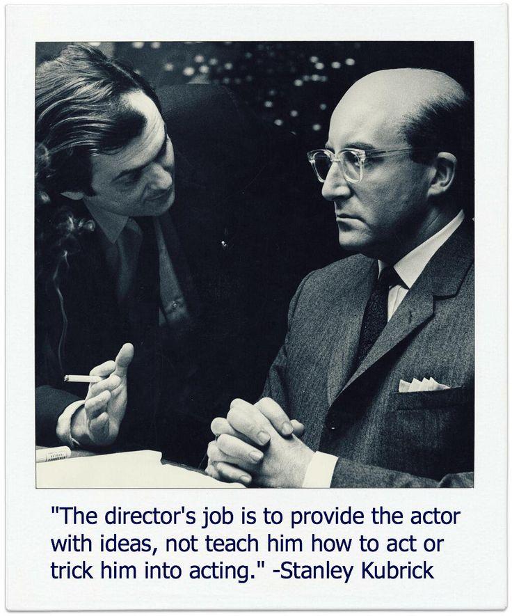 Regarding Actors Kubrick Meant What He Said