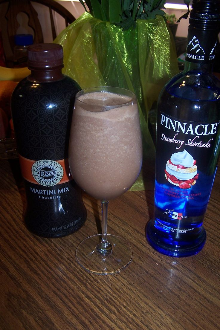 Taste just like a chocolate covered strawberry! Use Dove Chocolate Discoveries Martini mix and vodka YUM!! http://www.suzichaplin.com  Fun Chocolate tasting parties