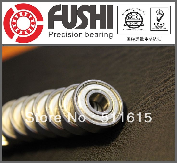 608ZZ Bearing ABEC-1 (20PCS) 8X22X7 mm Miniature 608 ZZ Longboard Skateboard Ball Bearings 608-2Z 608Z