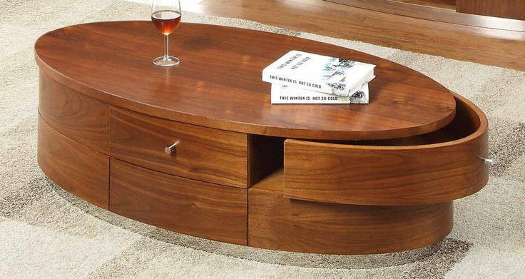 Deze eigentijdse salontafel is het middelpunt in je woonkamer. DeSalontafel Prescotheeft een weergaloos design en straalt van elegantie. Daarnaast is deovale salontafelvoorzien van lades waar je al je spullen gemakkelijk in kunt bergen. Met dezehouten salontafelis je woonkamer compleet en kun je genieten van je stijlvolle inrichting.