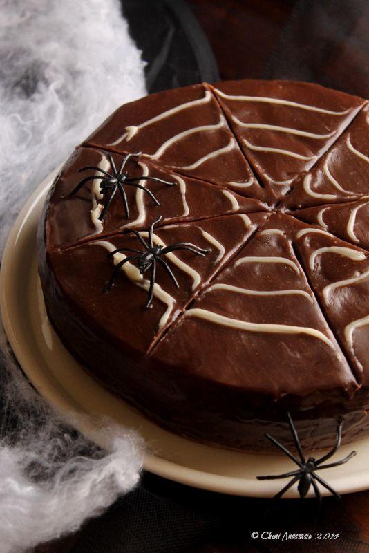 Cocina compartida: Pastel de calabaza con chocolate y nueces para Hallowen