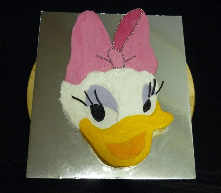 Daisy Duck Birthday Cake