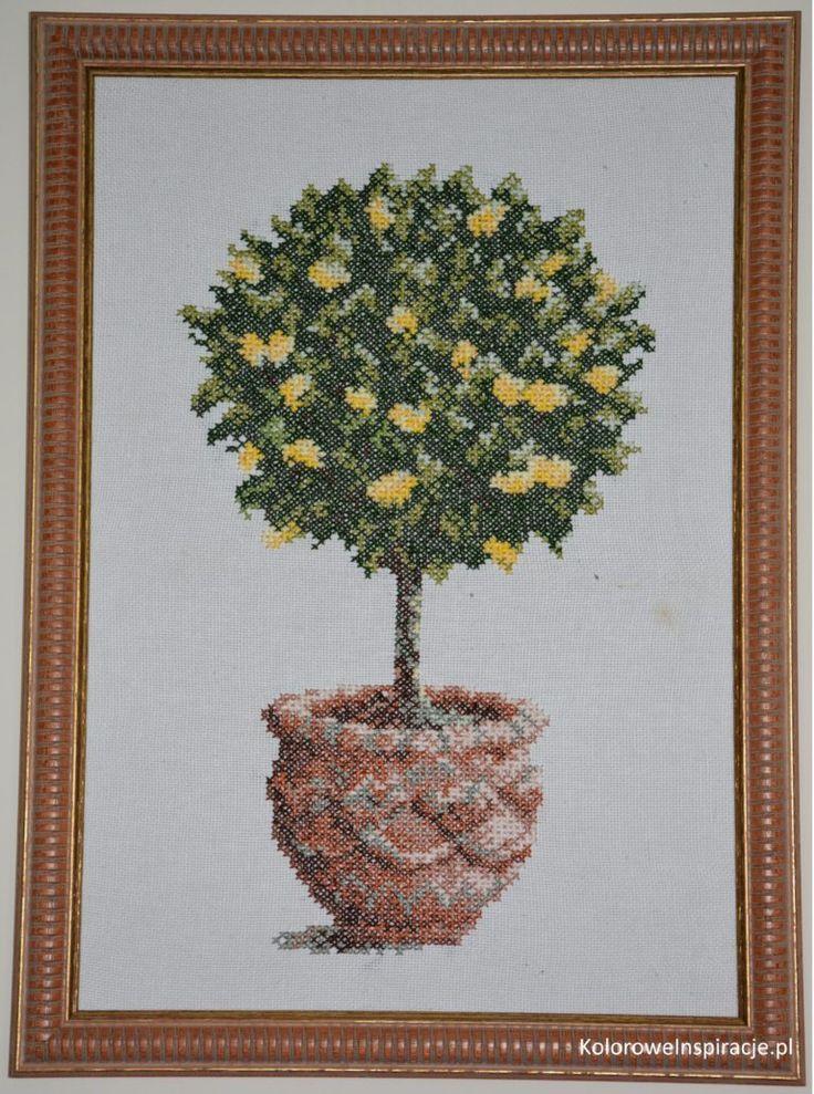 haft-krzyzykowy-drzewko-cytrynowe