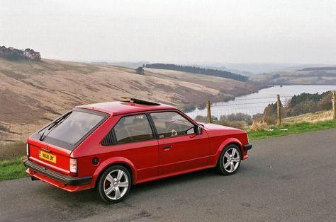vauxhall astra mk1 - GTE Turbo
