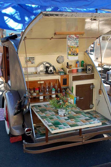 1937 Teardrop Trailer--my grandparents had a teardrop trailer, and they loved…
