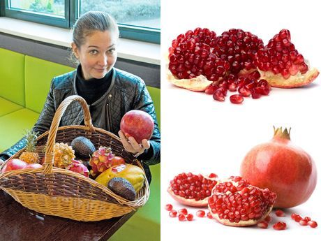"""I am of the opinion that the pomegranate will become the little brother of the avocado as part of a healthy lifestyle,"" Elena Rogojnikova, senior buyer for Hagé International, comes straight to....."