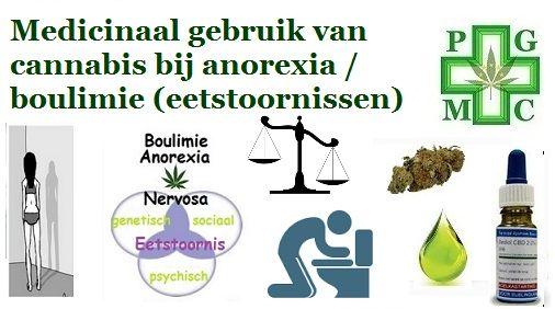 Anorexia nervosa is een eetstoornis,waarbij iemand een vervormd beeld van het eigen lichaam heeft, een grote angst heeft om dik te worden en niet probeert een normaal lichaamsgewicht na te streven.  De stoornis kan ernstige lichamelijke gevolgen hebben en zelfs tot de dood leiden. De naam is afgeleid van het griekse woord voor eetlust (orexia), nervosa slaat op de vermeende neurotische achtergrond. We onderscheiden twee types: het beperkende type, het gewicht wordt streng onder controle…