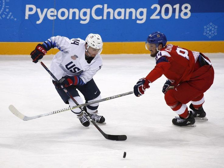 The Latest: US hockey, Czech Republic head to shootout