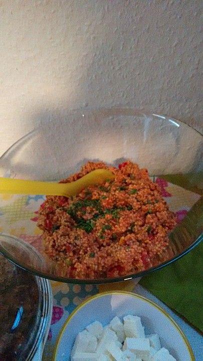 Türkischer Hirsesalat, ein leckeres Rezept aus der Kategorie Gemüse…