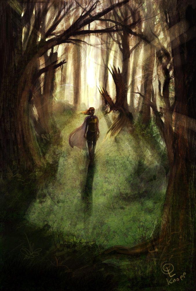 Forest Walk by kiki-doodle.deviantart.com on @deviantART