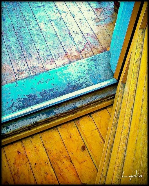 : Bathroom Design, Paintings Wood Floors, Bathroom Colors, Old Wood Floors, Lydia Bociurkiw, Floors Design, Bathroom Interiors Design, Photo, Design Bathroom
