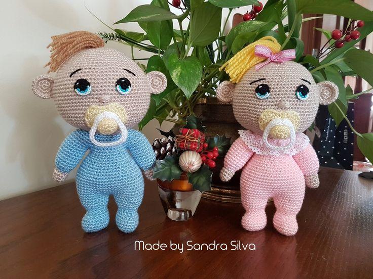 Bebés, babys #amigurumi