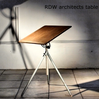 Tripod Architect's Table by RDW Belgium #laptop