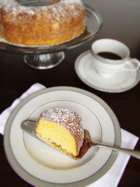 Lulu's Sweet Secrets: Gluten Free Cornmeal Cake - Bolo de Fubá sem Glúten