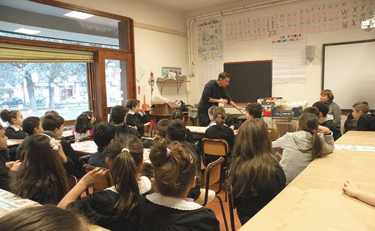 Scuolartigiana 28/1/2016 - I segreti delle ceramiche di Andrea Roggi trasferiti ai ragazzi della Tortelli di Capolona