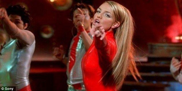 Who wore it better? Britney famously wore the red catsuit for the Oops! I Did It Again video in 2003