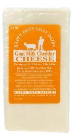 Cheddar   Happy Days Goat Dairy