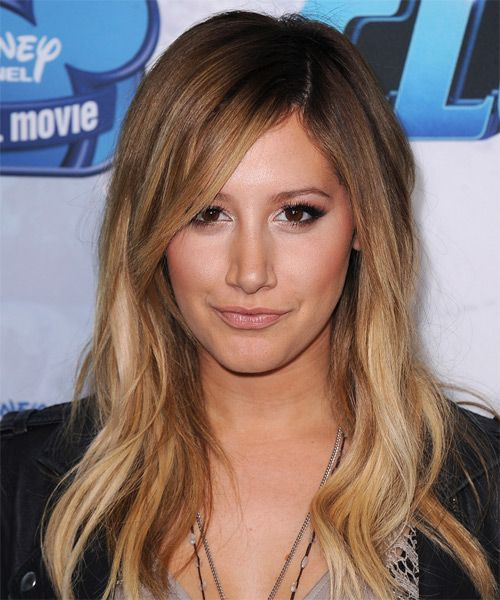 Ashley Tisdale Hairstyle - Casual Long Straight. Click on the image to try on this hairstyle and view styling steps!